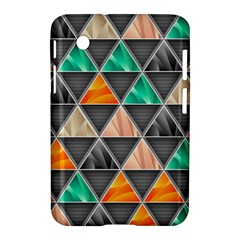 Abstract Geometric Triangle Shape Samsung Galaxy Tab 2 (7 ) P3100 Hardshell Case