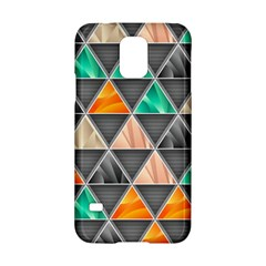 Abstract Geometric Triangle Shape Samsung Galaxy S5 Hardshell Case