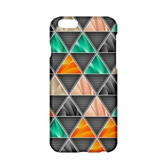 Abstract Geometric Triangle Shape Apple iPhone 6/6S Hardshell Case