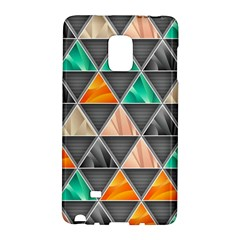 Abstract Geometric Triangle Shape Galaxy Note Edge