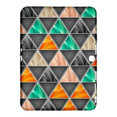 Abstract Geometric Triangle Shape Samsung Galaxy Tab 4 (10.1 ) Hardshell Case
