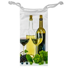 White Wine Red Wine The Bottle Jewelry Bag