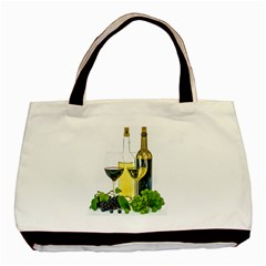 White Wine Red Wine The Bottle Basic Tote Bag