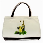 White Wine Red Wine The Bottle Basic Tote Bag Front