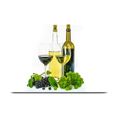 White Wine Red Wine The Bottle Plate Mats