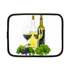 White Wine Red Wine The Bottle Netbook Case (Small)