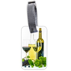 White Wine Red Wine The Bottle Luggage Tags (Two Sides)