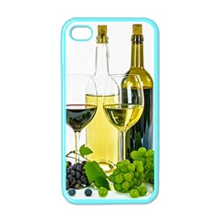 White Wine Red Wine The Bottle Apple iPhone 4 Case (Color)