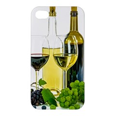 White Wine Red Wine The Bottle Apple Iphone 4/4s Hardshell Case