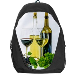White Wine Red Wine The Bottle Backpack Bag