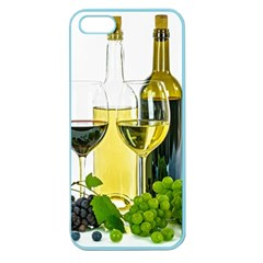 White Wine Red Wine The Bottle Apple Seamless Iphone 5 Case (color)