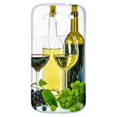 White Wine Red Wine The Bottle Samsung Galaxy S3 S Iii Classic Hardshell Back Case