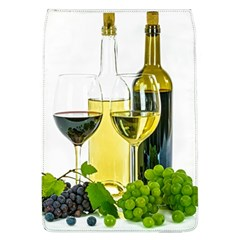 White Wine Red Wine The Bottle Flap Covers (L)