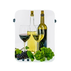 White Wine Red Wine The Bottle Apple iPad 2/3/4 Protective Soft Cases