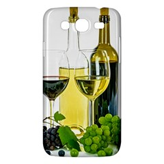 White Wine Red Wine The Bottle Samsung Galaxy Mega 5.8 I9152 Hardshell Case