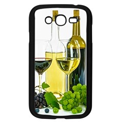 White Wine Red Wine The Bottle Samsung Galaxy Grand DUOS I9082 Case (Black)