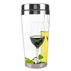 White Wine Red Wine The Bottle Stainless Steel Travel Tumblers