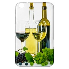White Wine Red Wine The Bottle Samsung Galaxy Tab 3 (8 ) T3100 Hardshell Case