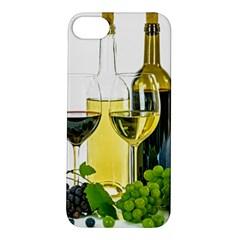 White Wine Red Wine The Bottle Apple iPhone 5S/ SE Hardshell Case