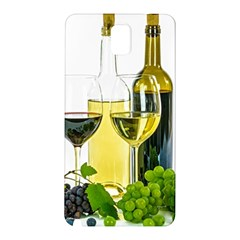 White Wine Red Wine The Bottle Samsung Galaxy Note 3 N9005 Hardshell Back Case