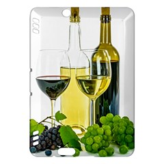White Wine Red Wine The Bottle Kindle Fire Hdx Hardshell Case