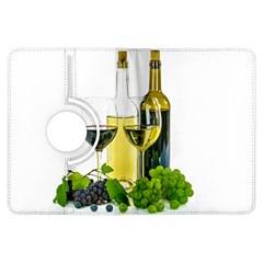 White Wine Red Wine The Bottle Kindle Fire Hdx Flip 360 Case