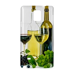White Wine Red Wine The Bottle Samsung Galaxy Note 4 Hardshell Case