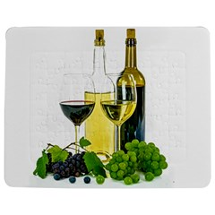 White Wine Red Wine The Bottle Jigsaw Puzzle Photo Stand (Rectangular)