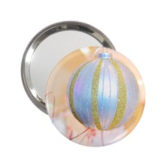 Sphere Tree White Gold Silver 2.25  Handbag Mirrors