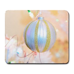 Sphere Tree White Gold Silver Large Mousepads