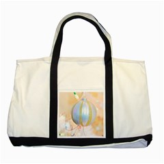 Sphere Tree White Gold Silver Two Tone Tote Bag