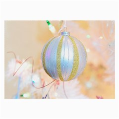 Sphere Tree White Gold Silver Large Glasses Cloth