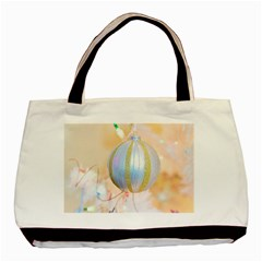 Sphere Tree White Gold Silver Basic Tote Bag (Two Sides)
