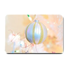 Sphere Tree White Gold Silver Small Doormat