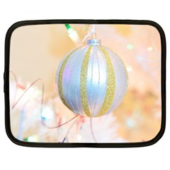 Sphere Tree White Gold Silver Netbook Case (large)