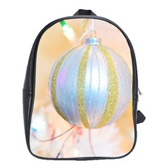 Sphere Tree White Gold Silver School Bags(large)