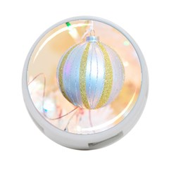 Sphere Tree White Gold Silver 4 Port Usb Hub (two Sides)
