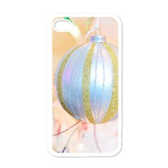 Sphere Tree White Gold Silver Apple Iphone 4 Case (white)