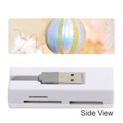 Sphere Tree White Gold Silver Memory Card Reader (stick)