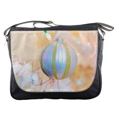 Sphere Tree White Gold Silver Messenger Bags