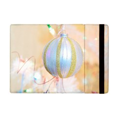 Sphere Tree White Gold Silver Apple iPad Mini Flip Case