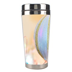 Sphere Tree White Gold Silver Stainless Steel Travel Tumblers