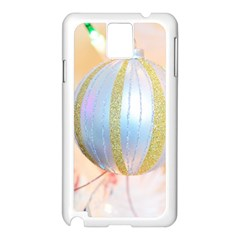 Sphere Tree White Gold Silver Samsung Galaxy Note 3 N9005 Case (white)