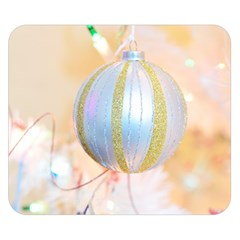 Sphere Tree White Gold Silver Double Sided Flano Blanket (small)