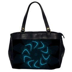 Background Abstract Decorative Office Handbags (2 Sides)
