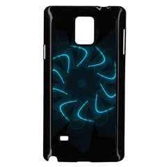 Background Abstract Decorative Samsung Galaxy Note 4 Case (black)