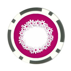 Photo Frame Transparent Background Poker Chip Card Guard