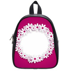 Photo Frame Transparent Background School Bags (small)