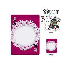Photo Frame Transparent Background Playing Cards 54 (mini)