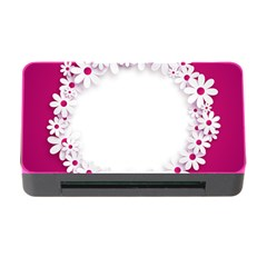 Photo Frame Transparent Background Memory Card Reader with CF